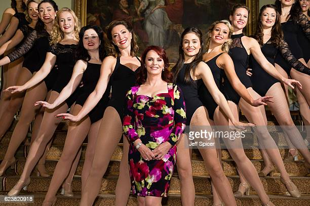 Sheena Easton and the cast of '42nd Street' attend a photocall at Theatre Royal on November 17 2016 in London England