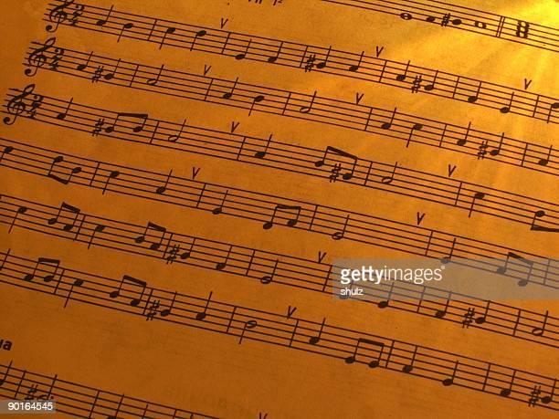 Partition musicale 1
