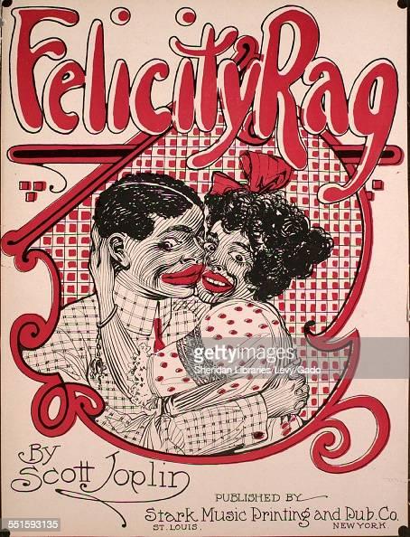 Sheet music cover image of 'Felicity Rag' by Scott Joplin Saint Louis Missouri 1911