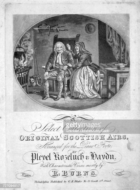 Sheet music cover image of the song 'A Select Collection of Original Scottish Airs John Anderson My Jo John Air John Anderson My Jo John ' with...