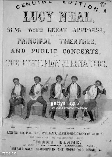 Sheet music cover image of the song 'Lucy Neal Genuine Edition' with original authorship notes reading 'na' United Kingdom 1900 The publisher is...