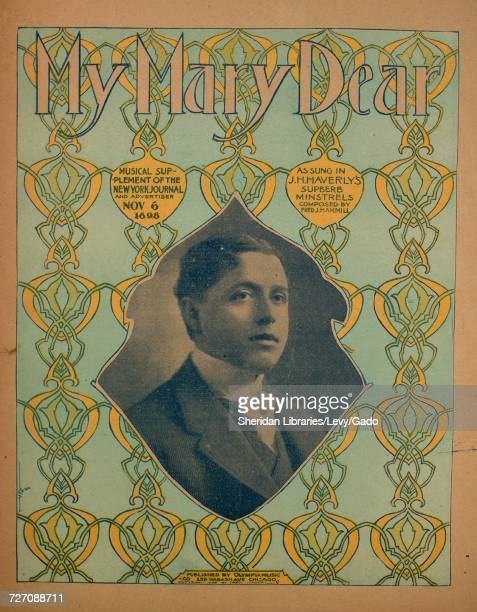 Sheet music cover image of the song 'my Mary Dear' with original authorship notes reading 'Arr by Hans S Line Composed by Fred J Hammill' United...