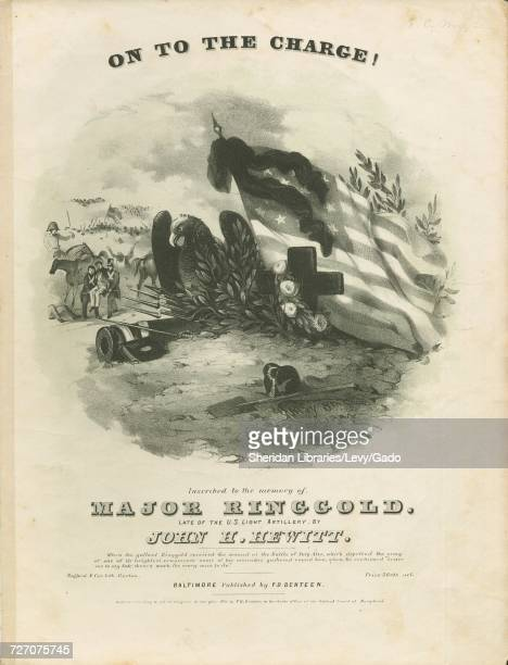 Sheet music cover image of the song 'On to the Charge' with original authorship notes reading 'By John H Hewitt' United States 1846 The publisher is...