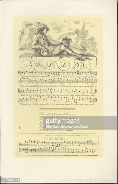 Sheet music cover image of the song 'the Fly' with original authorship notes reading 'na' 1900 The publisher is listed as '' the form of composition...
