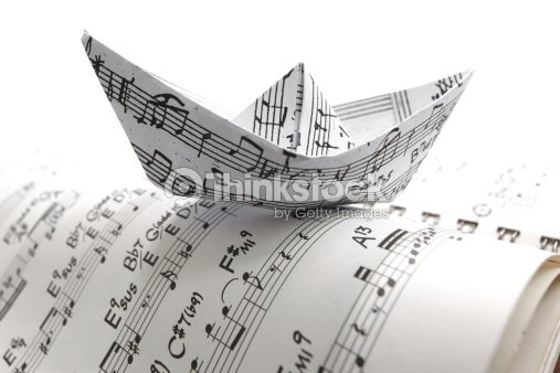 Auguri ..Mr Charade...! Sheet-music-paper-boat-picture-id148240696?s=170667a&w=1007