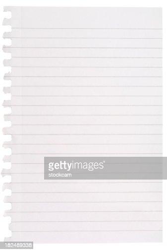 空白メモ紙の裏張り