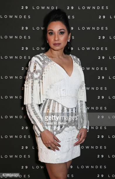 Sheetal Mafatlal attends the 29 Lowndes store launch on May 4 2017 in London England
