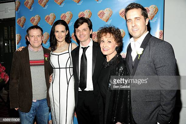 Sheffield Chastain Charlotte Cohn Jason Odell Williams Carol Lawrence and Jonathan Sale attend 'Handle With Care' Broadway opening night after party...