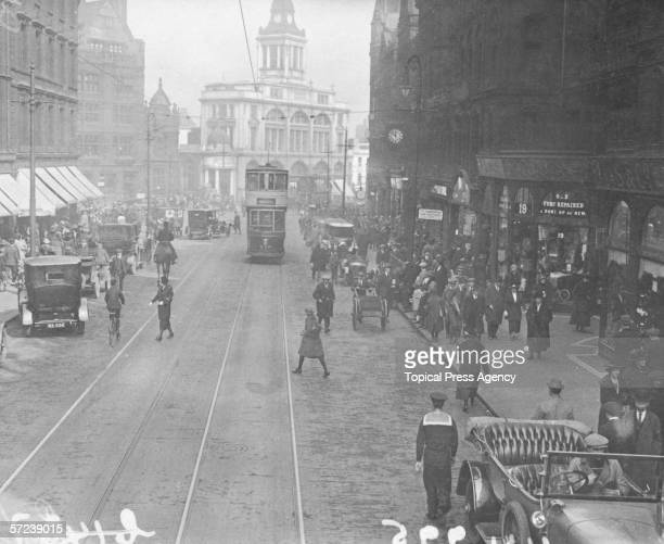 Sheffield High Street April 1923