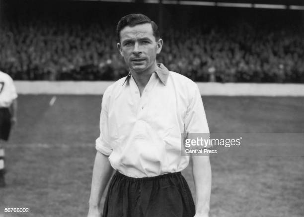 Sheffield United captain and England footballer Jimmy Hagan 1948