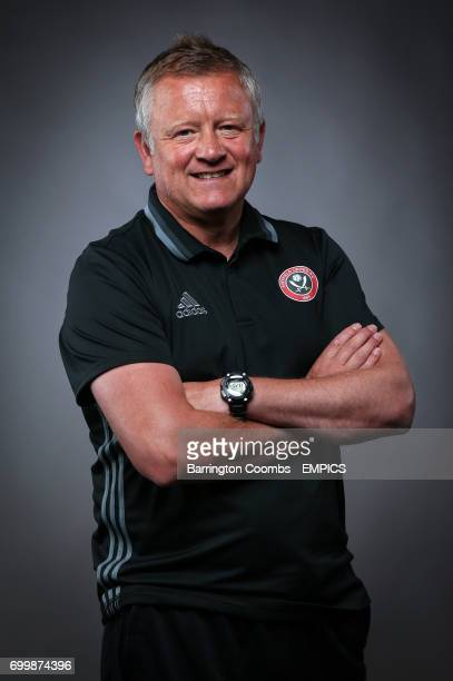 Sheffield United manager Chris Wilder during the EFL Managers Feature Shoot
