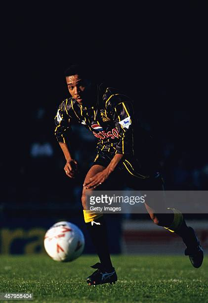 Sheffield Wednesday centre back Des Walker in action during a pre season game between Plymouth Argyle and Sheffield Wednesday at Home Park on July 21...