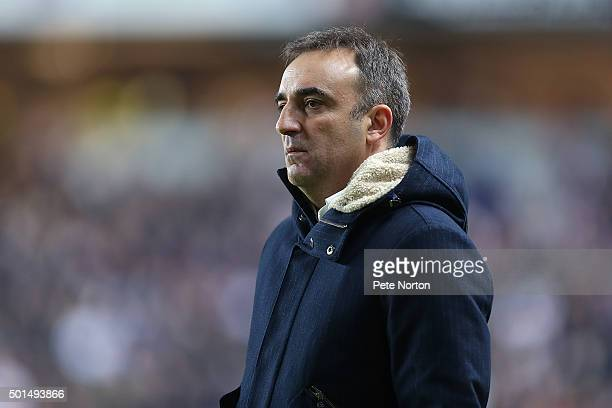 Sheffield Wednesday manager Carlos Carvalhal looks on duriing the Sky Bet Championship match between Milton Keynes Dons and Sheffield Wednesday at...