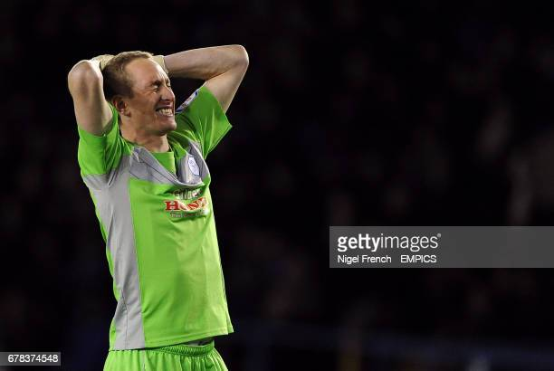 Sheffield Wednesday's Chris Kirkland reacts