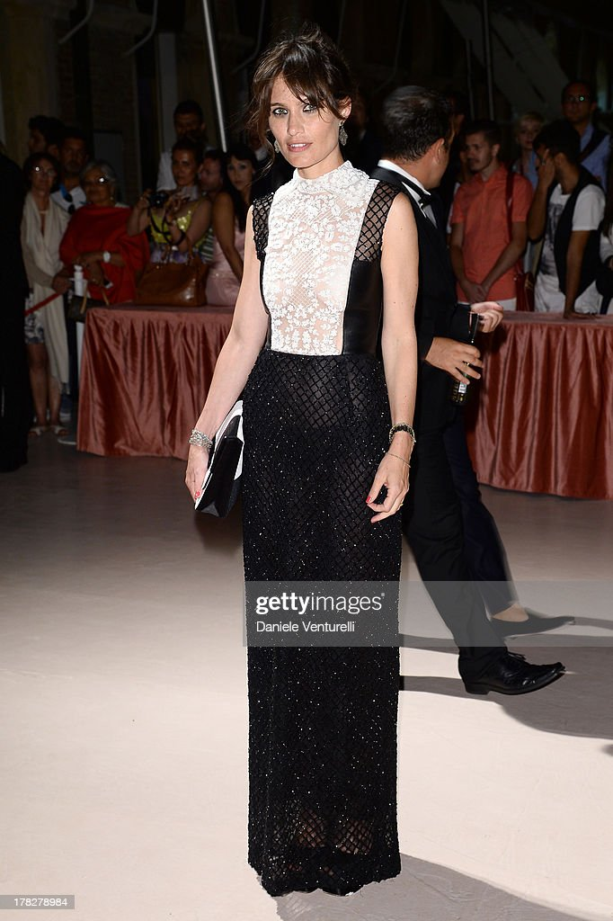 Sheherazade Goldsmith attends the Opening Ceremony during The 70th Venice International Film Festival on August 28, 2013 in Venice, Italy.