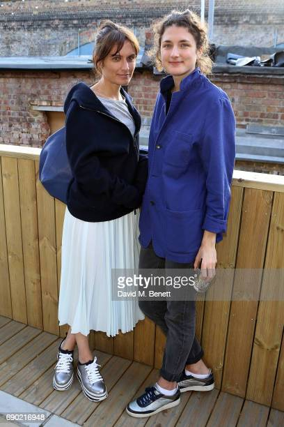 Sheherezade Goldsmith attends a play reading of 'Building The Wall' by Robert Schenkkan presented by Platform Presents at The Bush Theatre on May 30...