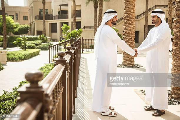 sheikh doing a deal in UAE