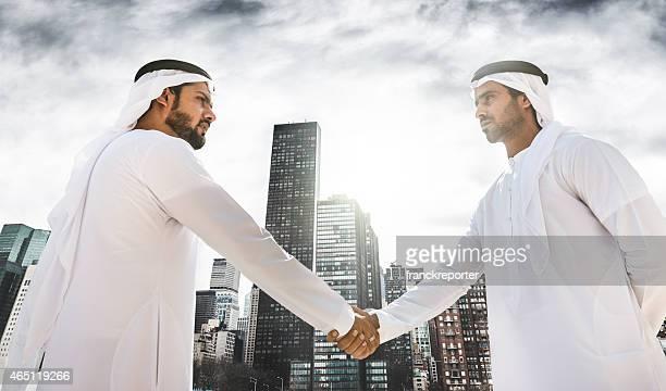 sheikh doing a deal on manhattan