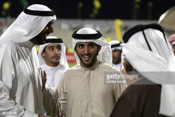 Sheikh Hamdan bin Mohammed bin Rashid alMaktoum son of Vice President and Prime Minister of the UAE and Ruler of Dubai attends the AFC Champions...