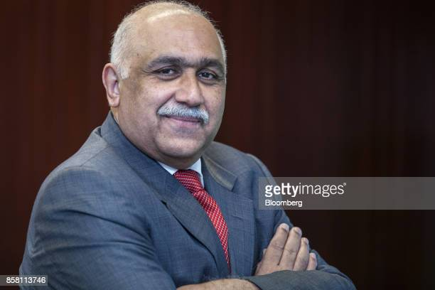 Sheikh Imran Ul Haque chief executive officer of Pakistan State Oil Ltd poses for a photograph in Karachi Pakistan on Wednesday Sept 27 2017...