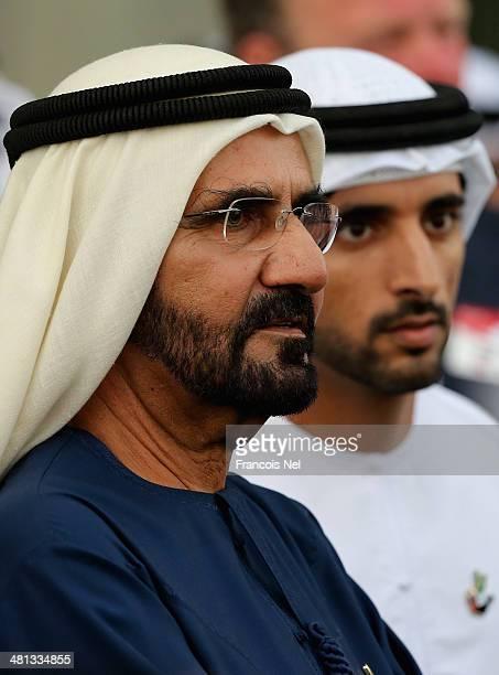Sheikh Mohammed bin Rashid Al Maktoum Ruler of Dubai and Vice President of the UAE and Sheikh Hamdan bin Mohammed bin Rashid Al Maktoum Crown Prince...