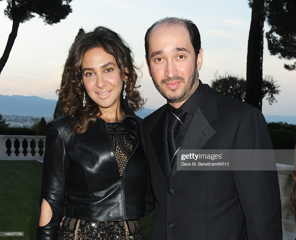 Sheikh Mohammed Youseef El Khereiji (R) attends the 2012 amfAR's Cinema Against AIDS during the 65th Annual Cannes Film Festival at Hotel Du Cap on May 24, 2012 in Cap D'Antibes, France.