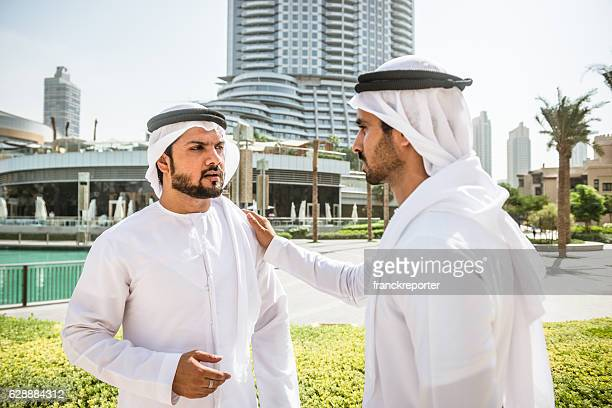 sheikh talking together in Dubai