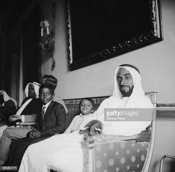 Sheikh Zayed bin Sultan alNahayan ruler of Abu Dhabi August 1966