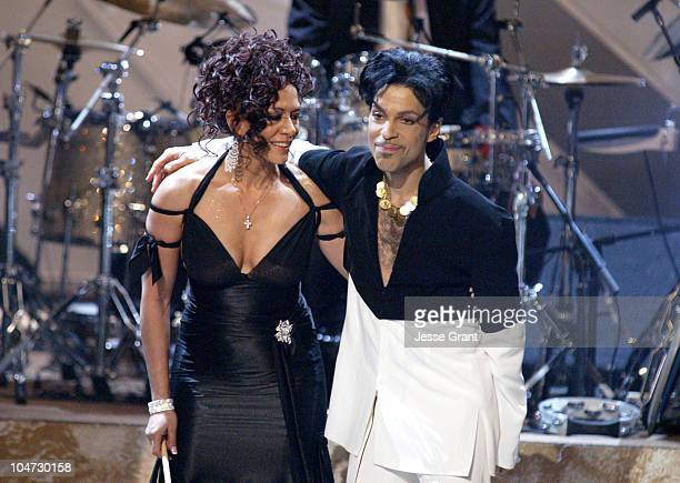 Sheila E and Prince during The 36th Annual NAACP Image Awards Show at Dorothy Chandler Pavillion in Los Angeles California United States