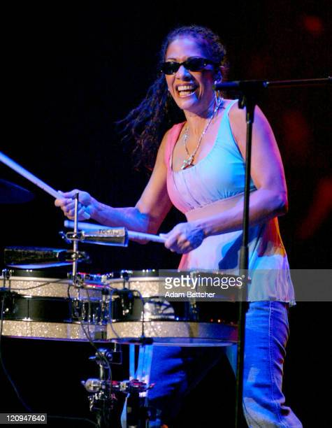 Sheila E during 2004 Marshall Fields Glamorama Fashion Show at State Theater in Minneapolis Minnesota United States