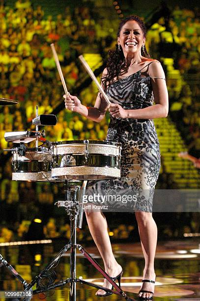 Sheila E during 2004 VH1 Divas Show at MGM Grand in Las Vegas Nevada United States