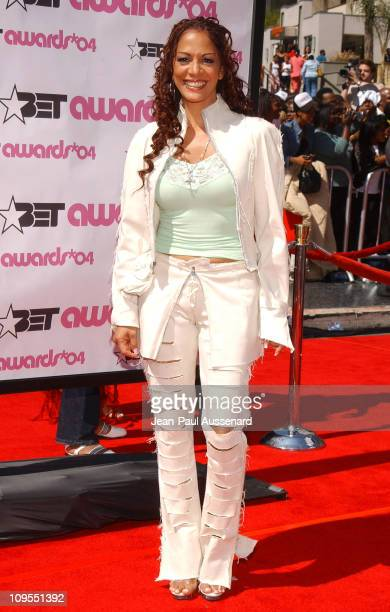 Sheila E during 4th Annual BET Awards Arrivals at Kodak Theatre in Hollywood California United States