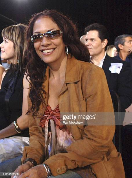 Sheila E during 'American Idol' Season 4 Results Show May 11 2005 at American Idol Studios in Los Angeles California United States