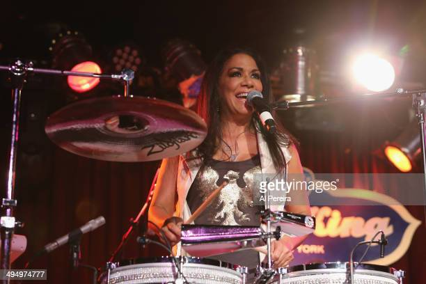 Sheila E performs at BB King Blues Club Grill on May 31 2014 in New York City