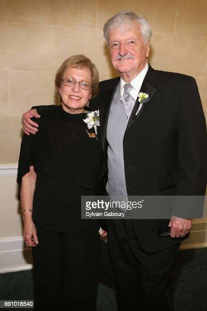 Sheila GordonElliott and Robin Elliott attend The 60th Anniversary Gala to benefit Parkinson's Foundation at The New York Botanical Garden on May 31...