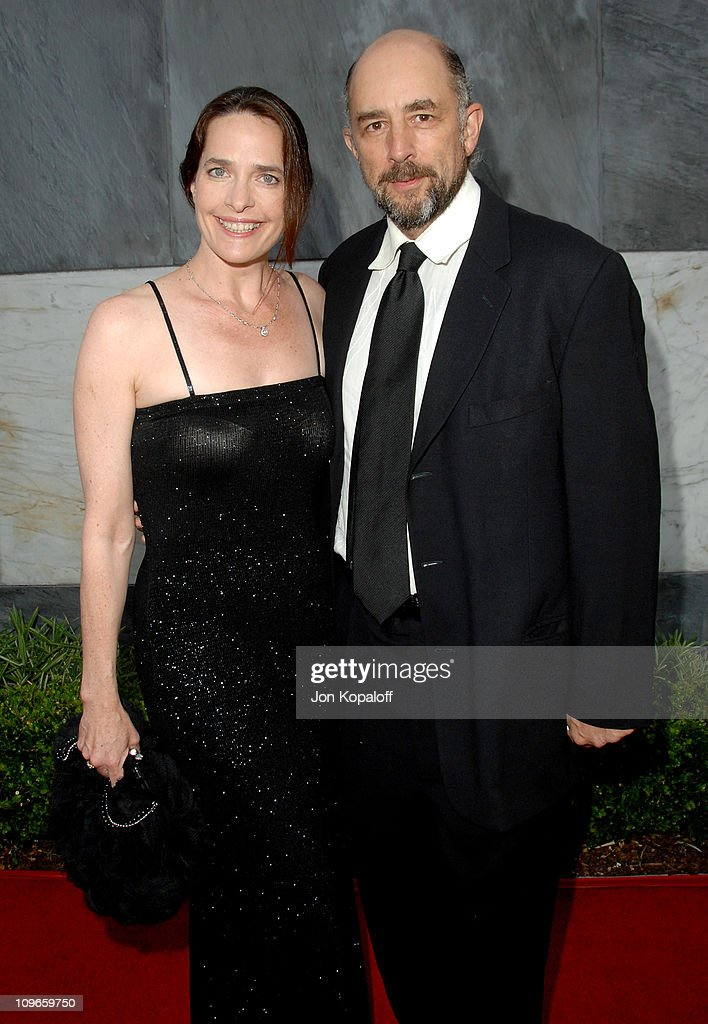 Sheila Kelley and husband Richard Schiff during 2007 Los Angeles Film Festival's Spirit of Independence Award Ceremony Honoring Clint Eastwood- Arrivals at Billy Wilder Theatre at the Hammer Museum in Westwood, California, United States.