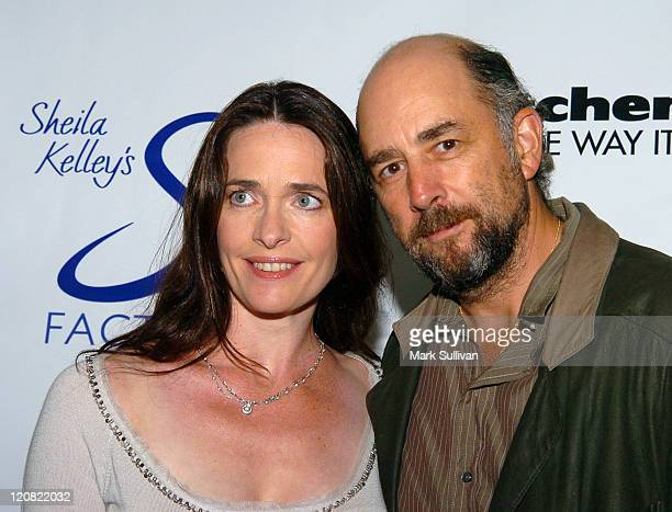 Sheila Kelley and Richard Schiff during Design For The Cure 2005 in Los Angeles California United States