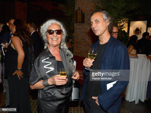 Sheila Metzner and Bob Recine attend The Turtle Conservancy's 4th Annual Turtle Ball at The Bowery Hotel on April 17 2017 in New York City