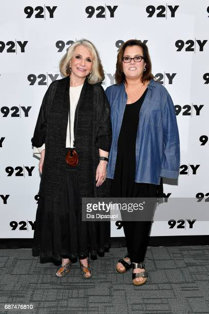 Sheila Nevins and Rosie O'Donnell attend the 92nd Street Y Presents Sheila Nevins in Conversation with Rosie O'Donnell at 92nd Street Y on May 23...