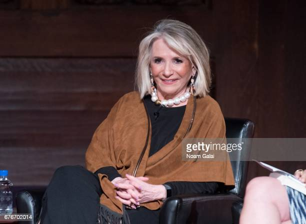 Sheila Nevins speaks onstage during Times Talks in Conversation Sheila Nevins with Gayle King Jenna Lyons and Janet Mock at New York Society for...