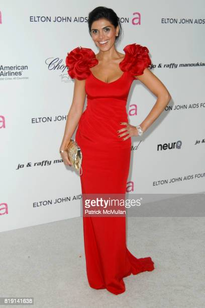 Sheila Shah attends 18th Annual ELTON JOHN AIDS Foundation Oscar Party at Pacific Design Center on March 7 2010 in West Hollywood California