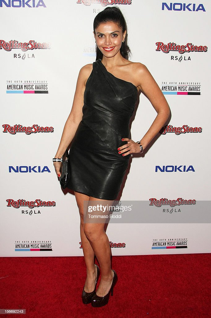 Sheila Shah attends the Rolling Stone after party for the 2012 American Music Awards presented by Nokia and Rdio held at the Rolling Stone Restaurant And Lounge on November 18, 2012 in Los Angeles, California.