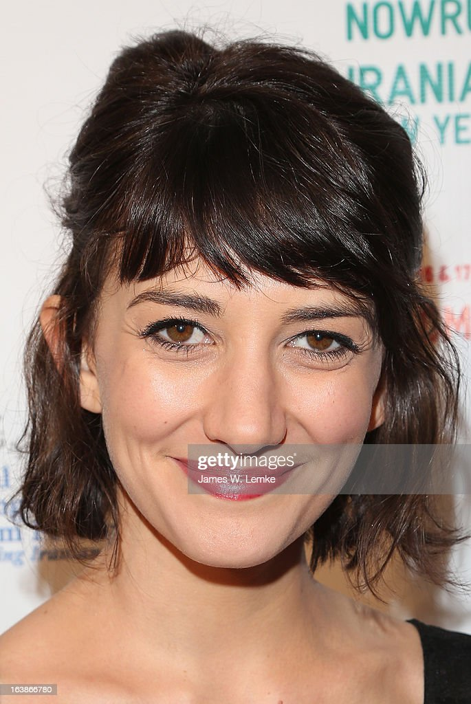 Sheila Vand attends the 2013 Farhang Foundation Short Film Festival held at the Bing Theatre at LACMA on March 16, 2013 in Los Angeles, California.