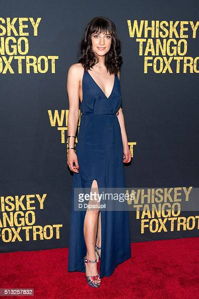 Sheila Vand attends the 'Whiskey Tango Foxtrot' world premiere at AMC Loews Lincoln Square 13 theater on March 1 2016 in New York City