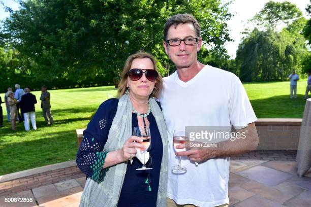 Sheila White and Bill Schefferin attend Maison Gerard Presents Marino di Teana A Lifetime of Passion and Expression at Michael Bruno and Alexander...