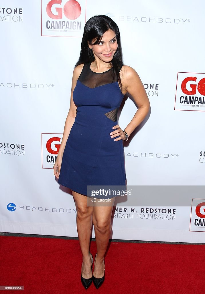 Sheilah Shah attends the 6th Annual GO GO Gala at Bel Air Bay Club on November 14, 2013 in Pacific Palisades, California.