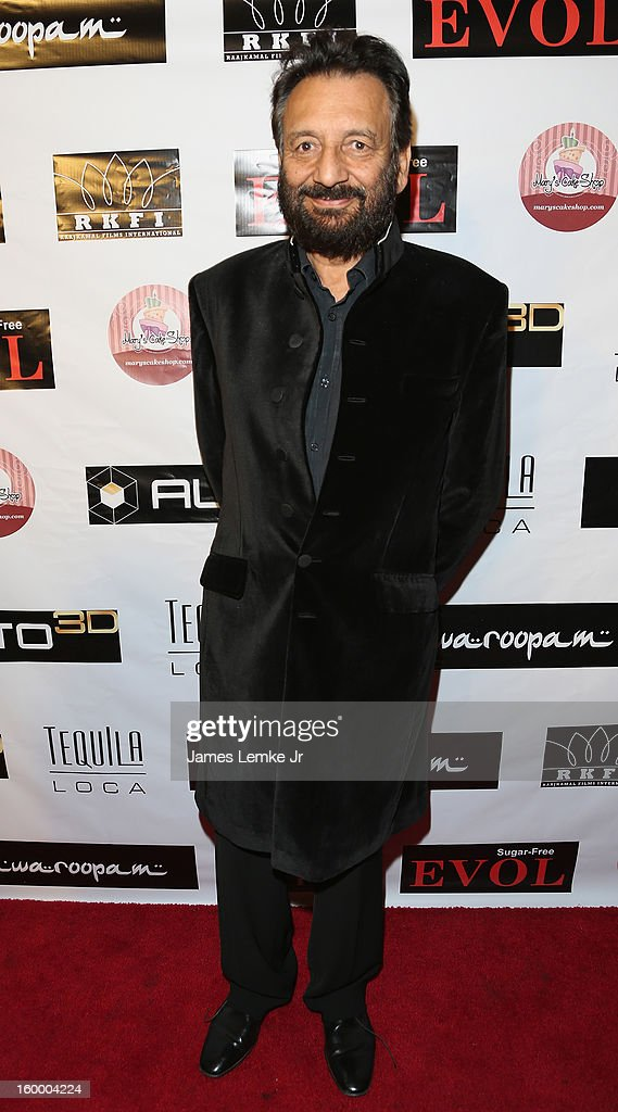 Shekhar Kapur attends the 'Vishwaroopam' premiere held at the Pacific Theaters at the Grove on January 24 2013 in Los Angeles California
