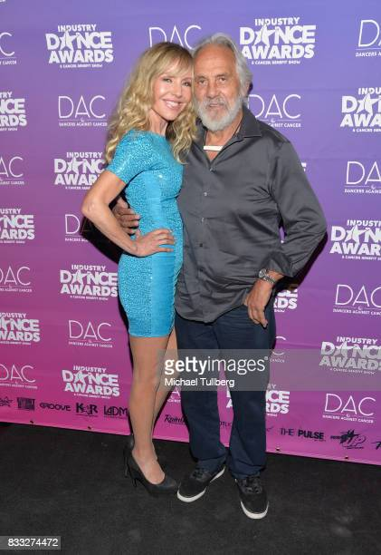 Shelby Chong and actor Tommy Chong attends the 2017 Industry Dance Awards and Cancer Benefit Show at Avalon on August 16 2017 in Hollywood California