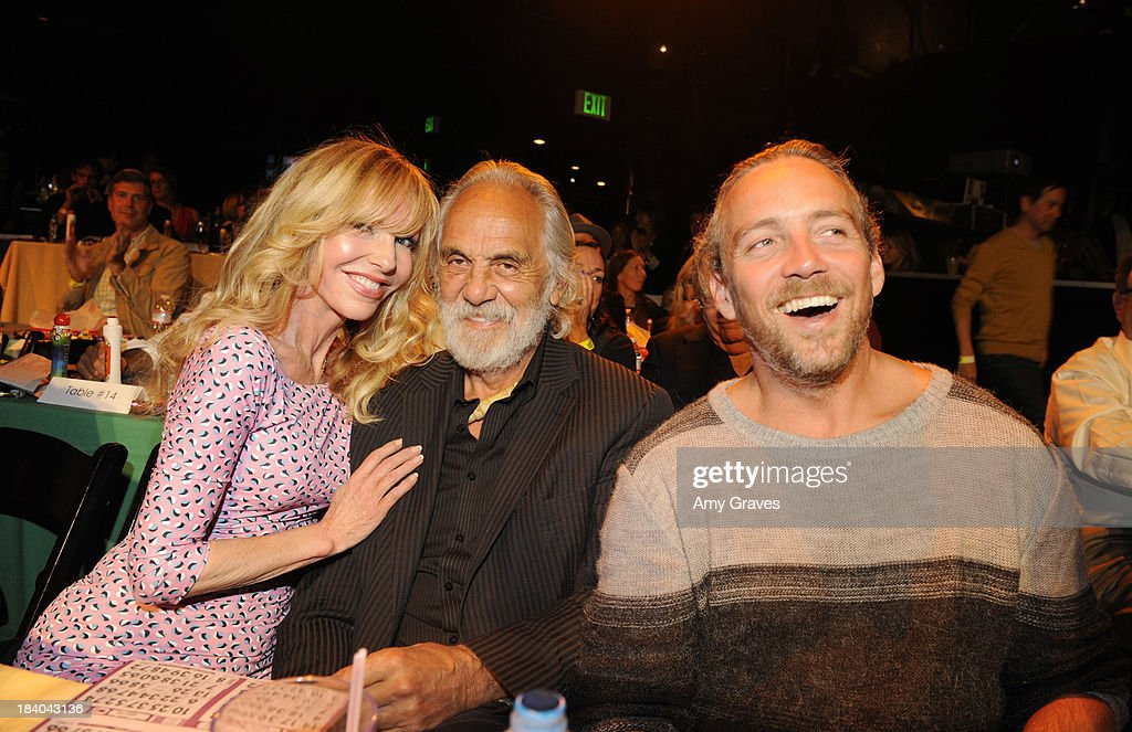 Shelby Chong and Tommy Chong attend Bingo At The Roxy to Benefit The Painted Turtle at The Roxy Theatre on October 10, 2013 in West Hollywood, California.
