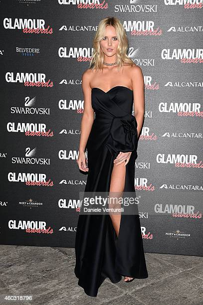 Shelby Keeton attends Glamour Awards 2014 on December 11 2014 in Milan Italy